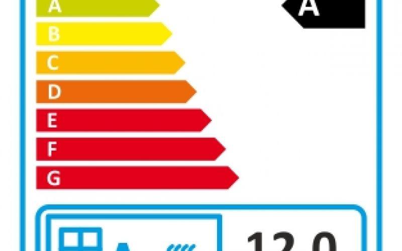 Etykieta energetyczna  na wkład Artemis